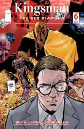 Kingsman: The Red Diamond (2017) -6- Issue #6