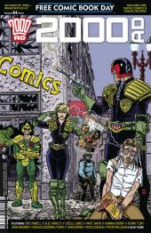 Free Comic Book Day 2016 - 2000 AD