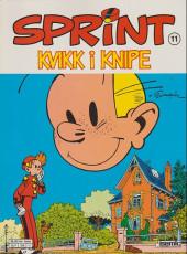 Sprint -11- Kvikk i knipe