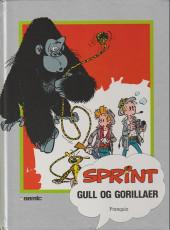Sprint -12a90- Gull og gorillaer
