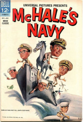 Movie Classics (Dell - 1962) -500- McHale's Navy
