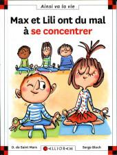 Ainsi va la vie (Bloch) -115- Max et Lili ont du mal à se concentrer
