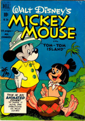 Four Color Comics (Dell - 1942) -304- Mickey Mouse in Tom-Tom Island