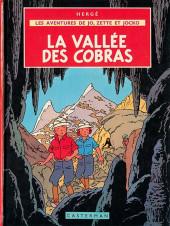 Jo, Zette et Jocko (Les Aventures de) -5b40- La vallée des cobras