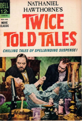 Movie Classics (Dell - 1962) -840- Twice Told Tales