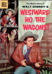 Four Color Comics (Dell - 1942) -738- Westward Ho the Wagons!