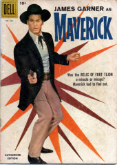 Four Color Comics (Dell - 1942) -930- Maverick: Relic of Fort Tejon