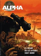 Alpha Premières Armes -5- À l'heure où les hyènes vont boire