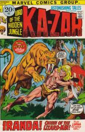 Astonishing tales Vol.1 (Marvel - 1970) -9- The legend of the lizard men!