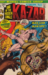 Astonishing tales Vol.1 (Marvel - 1970) -11- A day of tigers!