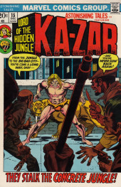 Astonishing tales Vol.1 (Marvel - 1970) -15- And who will call him Savage?