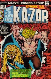 Astonishing tales Vol.1 (Marvel - 1970) -16- To stalk a city!