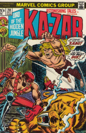Astonishing tales Vol.1 (Marvel - 1970) -20- The final battle!