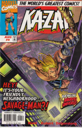 Ka-Zar Vol.3 (Marvel comics - 1997) -4- The concrete jungle