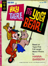 Couverture de Movie comics (Gold Key) -409- Hey There, It's Yogi Bear