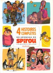 4 Histoires complètes du journal de Spirou - Tome 1