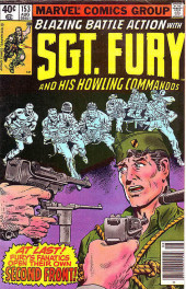 Sgt. Fury and his Howling Commandos (Marvel - 1963) -153- At last ! Fury's fanatics open their own second front !
