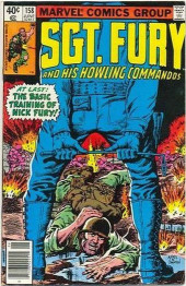 Sgt. Fury and his Howling Commandos (Marvel - 1963) -158- The basic training of Nick Fury !