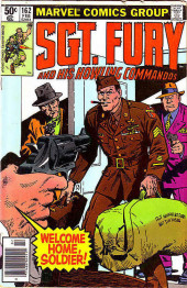 Sgt. Fury and his Howling Commandos (Marvel - 1963) -162- Welcome home, soldier !