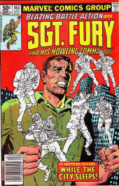 Sgt. Fury and his Howling Commandos (Marvel - 1963) -163- While the city sleeps !