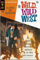 Wild, Wild West (The) (Gold Key - 1966) -7- Blueprint for Destruction