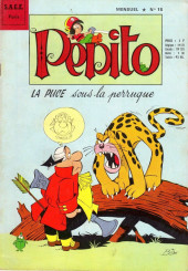 Pepito (3e Série - SAGE) (Numéro Géant) -15- La puce sous la perruque