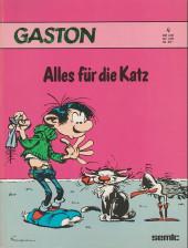 Gaston (en allemand) -4- Alles für die katz