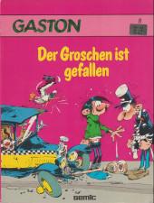 Gaston (en allemand) -8- Der groschen ist gefallen