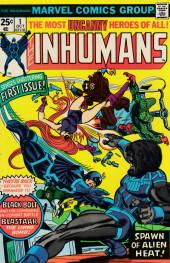 Inhumans (1975) (The) -1- Spawn of alien heat