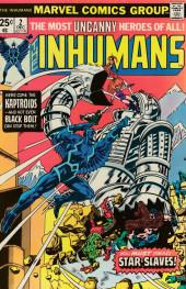 Inhumans (1975) (The) -2- Star-slaves