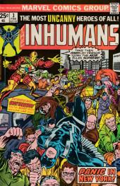 Inhumans (1975) (The) -3- Panic in New York!