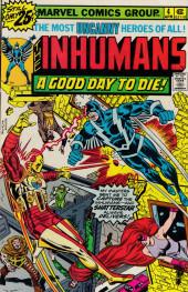 Inhumans (1975) (The) -4- The doom called Shatterstar