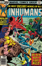 Inhumans (1975) (The) -6- A king of ruins