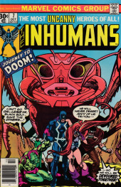 Inhumans (1975) (The) -7- A trip to the doom!