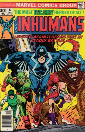 Inhumans (1975) (The) -8- Star-search: Dust and demons