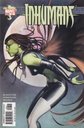 Inhumans (2003) -8- Inhumans #8