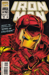Iron Man Vol.1 (Marvel comics - 1968) -AN15- Minds in collision!