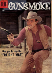 Four Color Comics (Dell - 1942) -797- Gunsmoke: Freight War