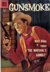 Four Color Comics (Dell - 1942) -769- Gunsmoke: The Marshal's Gamble