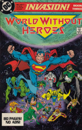 Invasion! (DC comics - 1988) -3- World Without Heroes