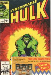 L'incroyable Hulk (Éditions Héritage) -167- La chasse à travers les mondes !