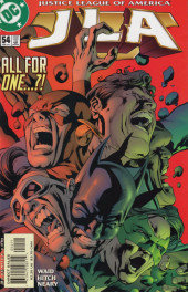 JLA (1997) -54- United we fall