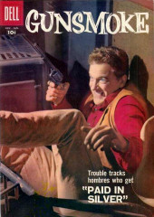 Gunsmoke (Dell - 1957) -6- Paid in Silver