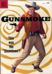 Gunsmoke (Dell - 1957) -7- Showdown