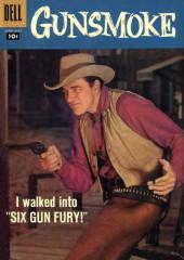 Gunsmoke (Dell - 1957) -8- Six Gun Fury