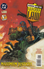Judge dredd: Legends of the law (1994) -1- The organ donors Chapter one: Honeymoon in hell