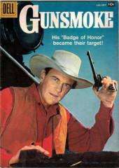 Gunsmoke (Dell - 1957) -10- Badge of Honor