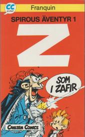 Spirou et Fantasio (en langues étrangères) -3Suédois- Z som i zaphir