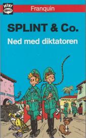 Spirou et Fantasio (en danois) (Splint & Co.) -Poche33- Ned med diktatoren