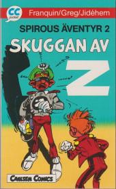 Spirou et Fantasio (en langues étrangères) -6Suédois- Skuggan av z